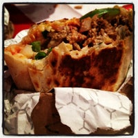 Photo taken at Burrito Boyz by robbyn w. on 10/28/2012
