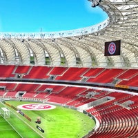 Photo taken at Beira-Rio Stadium by Carla A. on 11/16/2014