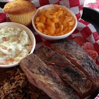 Photo taken at Dick's Bodacious BBQ by R G. on 3/23/2013