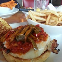 Photo taken at 5 Napkin Burger by Ange S. on 11/16/2012