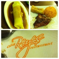 Photo taken at Casa Reyes Restaurant by Dhin H. on 11/18/2012