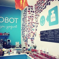 Photo taken at Yobot Frozen Yogurt by Puck P. on 8/24/2013