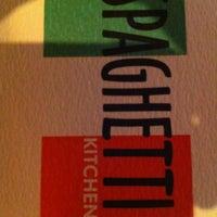 Photo taken at Spaghetti Kitchen by Rajnigandha K. on 12/15/2012
