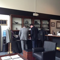 Photo taken at The Duke Barber Co. by Adam C. on 2/16/2013