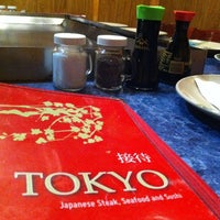 Photo taken at Tokyo Hibachi Express by Andrew C. on 1/1/2013