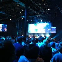 Photo taken at Passion City Church by Andrew C. on 10/14/2012