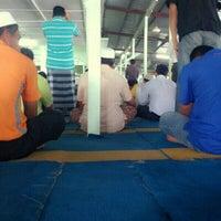 Photo taken at Masjid Kompleks Pertanian Serdang by SHEIK (. on 11/30/2012