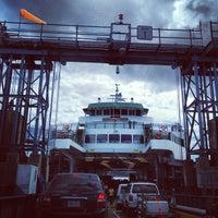 Photo taken at Bremerton Ferry Terminal by Maggi M. on 8/24/2013