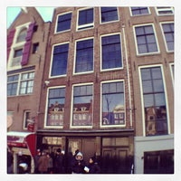 Photo taken at Anne Frank House by Didier C. on 2/10/2013