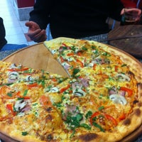 Photo taken at New York Street Pizza by Михаил В. on 2/2/2013