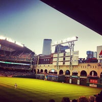 Photo taken at Minute Maid Park by Becky B. on 5/4/2013