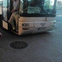 Photo taken at Autobuska stanica Subotica by Oskar V. on 7/31/2013