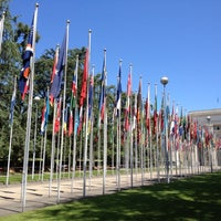 Photo taken at Palais des Nations by Samantha M. on 7/1/2013