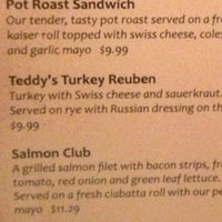 Photo taken at Teddy's Restaurant by Ted B. on 5/24/2013