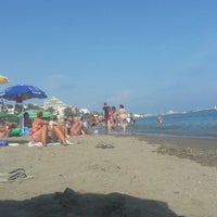 Photo taken at Playa Santa Ana by Roque V. on 8/23/2013