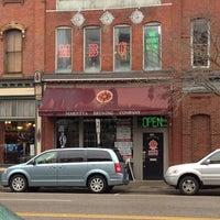 Photo taken at Marietta Brewing Company by John B. on 12/27/2012