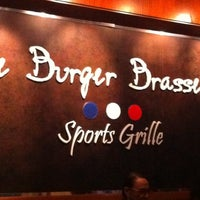 Photo taken at Le Burger Brasserie by Deena D. on 10/4/2012