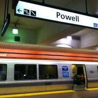 Photo taken at Powell St. BART Station by Christina H. on 8/2/2013