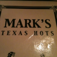 Photo taken at Mark's Texas Hots by Jon D. on 1/2/2013