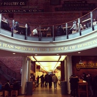 Photo taken at Quincy Market by Ksenia on 2/3/2013