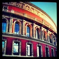 Photo taken at Royal Albert Hall by Simon O. on 11/14/2012