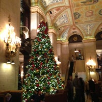 Photo taken at Palmer House - A Hilton Hotel by Nathaniel K. on 12/8/2012