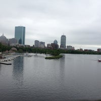 Photo taken at Longfellow Bridge by Sarah S. on 6/11/2013