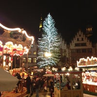 Photo taken at Frankfurter Weihnachtsmarkt by Andi F. on 12/10/2012