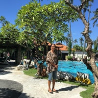 Photo taken at Inna Grand Bali Beach Hotel by Goes B. on 3/9/2016