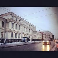 Photo taken at Филологический факультет СПбГУ by Natalia B. on 2/7/2013