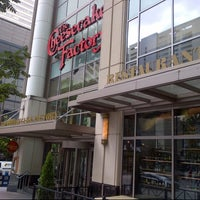 The Cheesecake Factory, Pike St. in downtown Seattle, Bellevue Square in Bellevue and Strander Blvd. near Southcenter Mall. Happy hour p.m. Mondays-Fridays at the bar.
