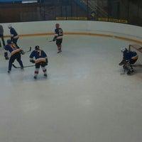 Photo taken at Talsu hokeja klubs (Talsi Ice Hockey club) by Elza Anna G. on 12/30/2015