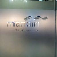 Photo taken at Bank Mandiri by Musa A. on 12/4/2012