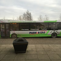 Photo taken at Monks Cross Park & Ride by Chris K. on 1/17/2016