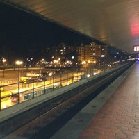 Photo taken at Braddock Road Metro Station by Roy G. on 3/11/2013