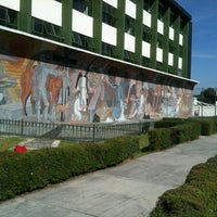 Photo taken at Preparatoria 1 Adolfo Lopez Mateos by Monserrat R. on 11/12/2012