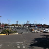 Photo taken at Estacionamiento Mall Plaza Oeste by Valentina D. on 2/2/2014
