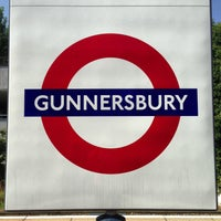 Photo taken at Gunnersbury London Underground and London Overground Station by Demsi on 8/28/2013
