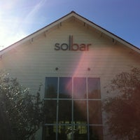 Photo taken at Solbar at Solage Calistoga by Ronin L. on 11/23/2012