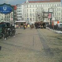 Photo taken at Hermannplatz by Maria O. on 3/14/2013