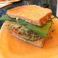 Photo taken at Mustard Cafe by Rebecca K. on 5/24/2013