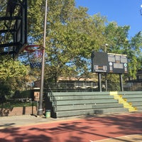 Photo taken at Rucker Park Basketball Courts by Mike D. on 10/7/2016