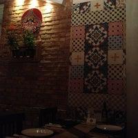 Photo taken at Saj Restaurante by Mayara D. on 3/21/2013