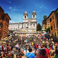 Photo taken at Piazza di Spagna by Mild J. on 6/8/2013