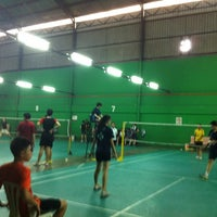 Photo taken at Dewan Badminton BCB by Mandy C. on 9/5/2014
