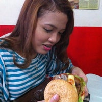 Photo taken at Gino's Burger by Leslie Anne A. on 1/16/2013