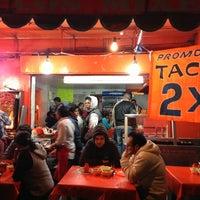 Photo taken at Taqueria La Morena de los Mixes by Emmanuel M. on 2/23/2013