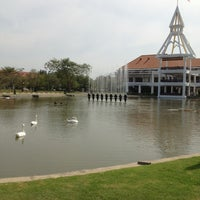 Photo taken at Dome Administrative Building by Suppanat H. on 1/4/2013