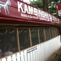 Photo taken at Kambingan Sa Buena Oro by Marcus on 1/21/2013