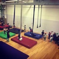 Photo taken at Philadelphia School of Circus Arts by Alex U. on 10/3/2015